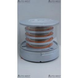 K-LED 4 segmenty LED srebrna