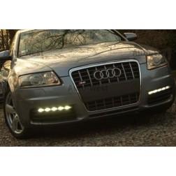Audi A6 S6 LED dzienne montaż